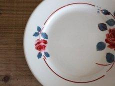 画像3: BADONVILLER ROSE Plate A/ 8 3/4in /France (3)