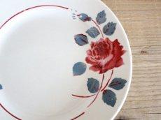 画像2: BADONVILLER ROSE Plate A/ 8 3/4in /France (2)