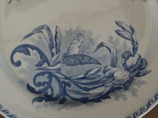 画像4: Creil Et Montereau Papillons /プレート 23cm/France/クレイユ エ モントロー (4)