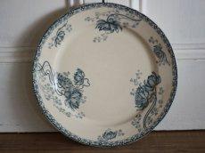 画像1: Sarreguemines U&C/ Royat / Plate / 25cm /France (1)