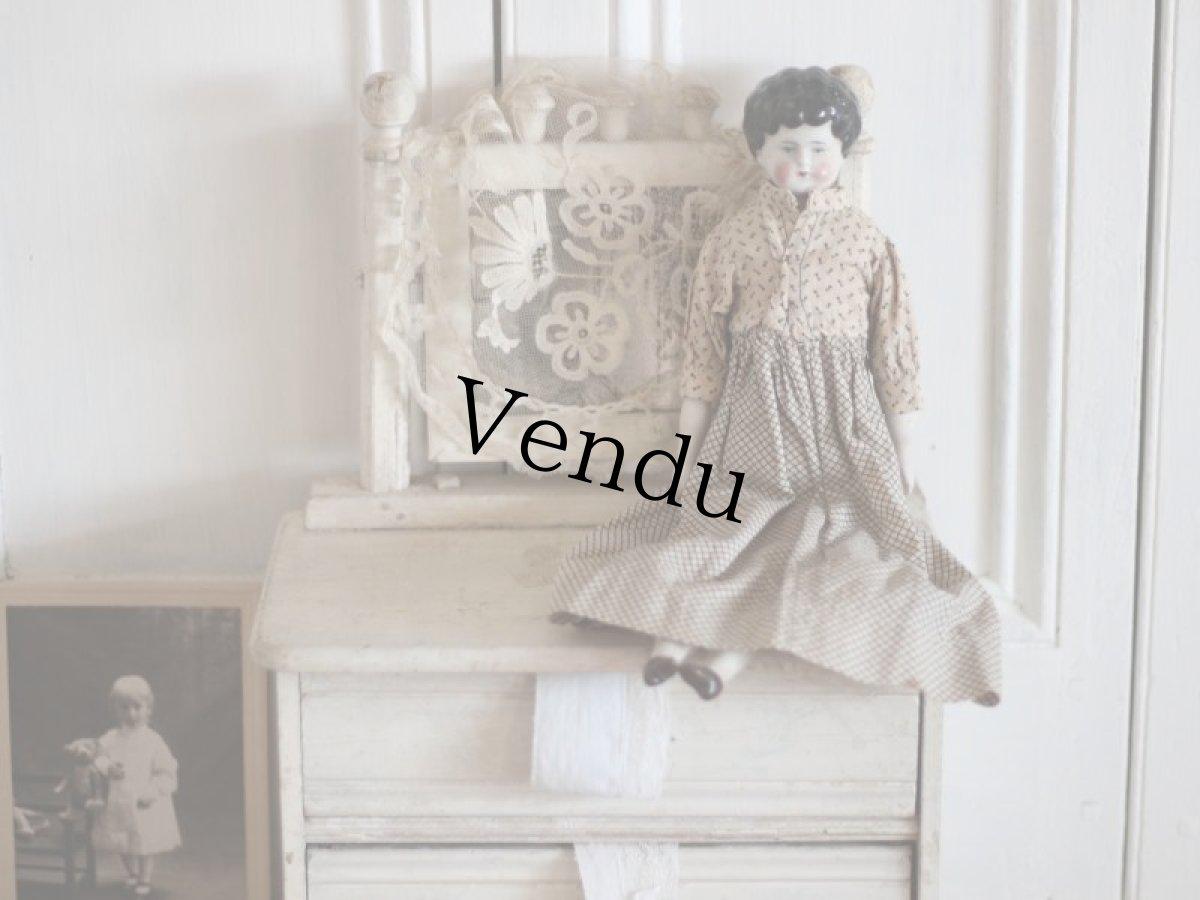 画像1: China Head Doll 12 1/4in / Germany (1)