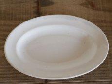 画像3: Maastricht窯 Petrus Regout Oval dish 2set /Creem/Dolls Tableware (3)