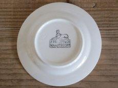 画像2: Maastricht窯 Petrus Regout Dinner  plate /Dolls Tableware (2)
