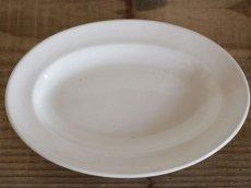 画像2: Maastricht窯 Petrus Regout Oval dish 2set /Creem/Dolls Tableware (2)