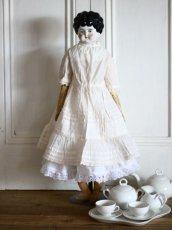 画像14: Antique Old China head doll/チャイナヘッドドール/20.5in (14)