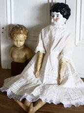 画像11: Antique Old China head doll/チャイナヘッドドール/20.5in (11)