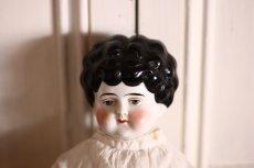 画像2: Antique Old China head doll/チャイナヘッドドール/20.5in (2)