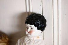 画像4: Antique Old China head doll/チャイナヘッドドール/20.5in (4)