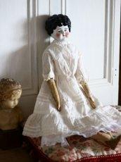 画像1: Antique Old China head doll/チャイナヘッドドール/20.5in (1)