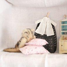 画像1: Antique Steiff Floppy Kitty#2 (1)