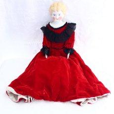 画像1: China head doll HERTWIG社 (1)