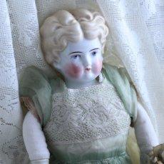 画像2: オーガンジードレスのチャイナヘッドドール EK08181801 (2)