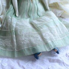 画像4: オーガンジードレスのチャイナヘッドドール EK08181801 (4)