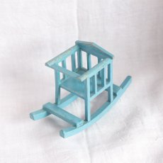 画像4: アンティークゆり椅子 (4)