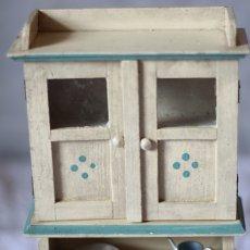 画像2: ドールハウス アンティークカップボード (2)