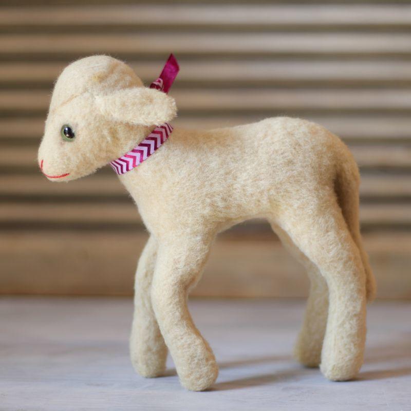 画像1: Steiff Lamb LAMBY (1)