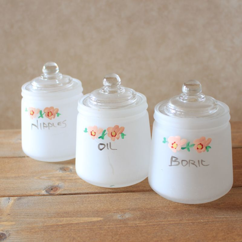画像1: Hazel Atlas Nursery Jar* (1)