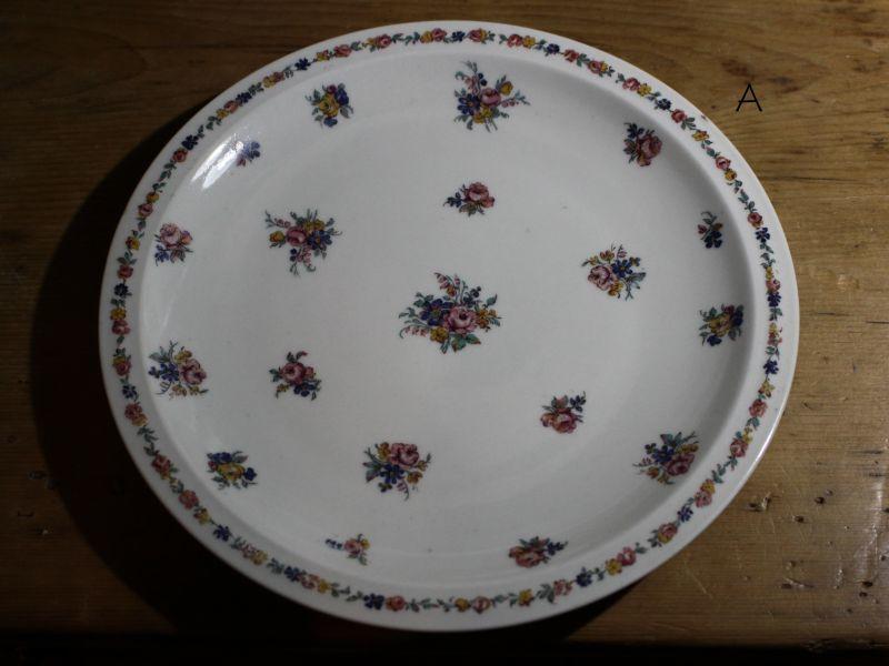 画像1: Théodore Haviland 24.5cm plate / French/テオドール ハヴィランド (1)
