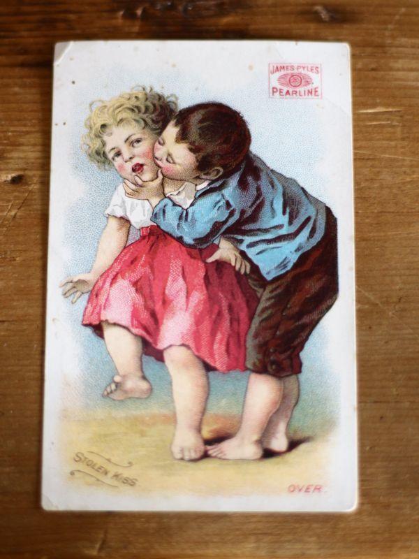 画像1: James Pyle PEARLINE STILEN KISS トレードカード (1)