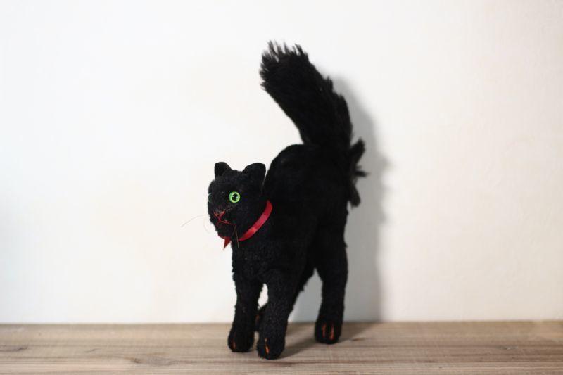 画像1: Steiff Black Cat /Germany (1)