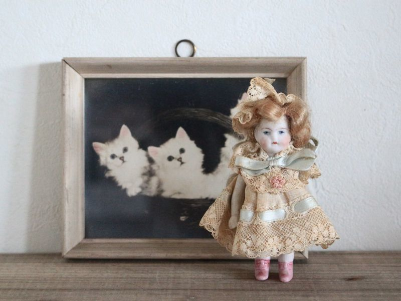 画像1: Antique Bisque Doll (1)
