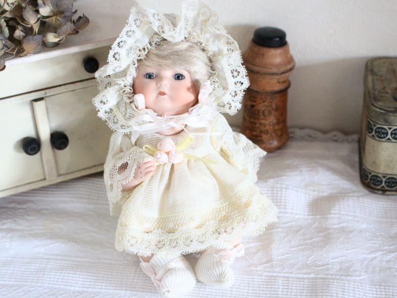 画像1: Baby Bisque Doll 7in/ Jeannie Di Mauro  (1)