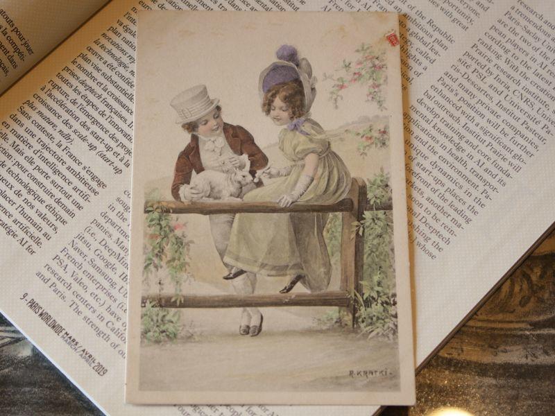 画像1: ヴィクトリア朝フレンチポストカード/France (1)