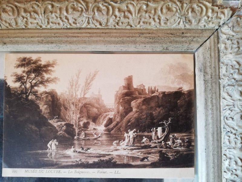 画像1: ヴィクトリアンポストカード/フランス蚤の市 #HC07 (1)