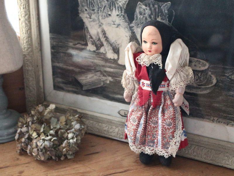 画像1: Papier mache doll (1)