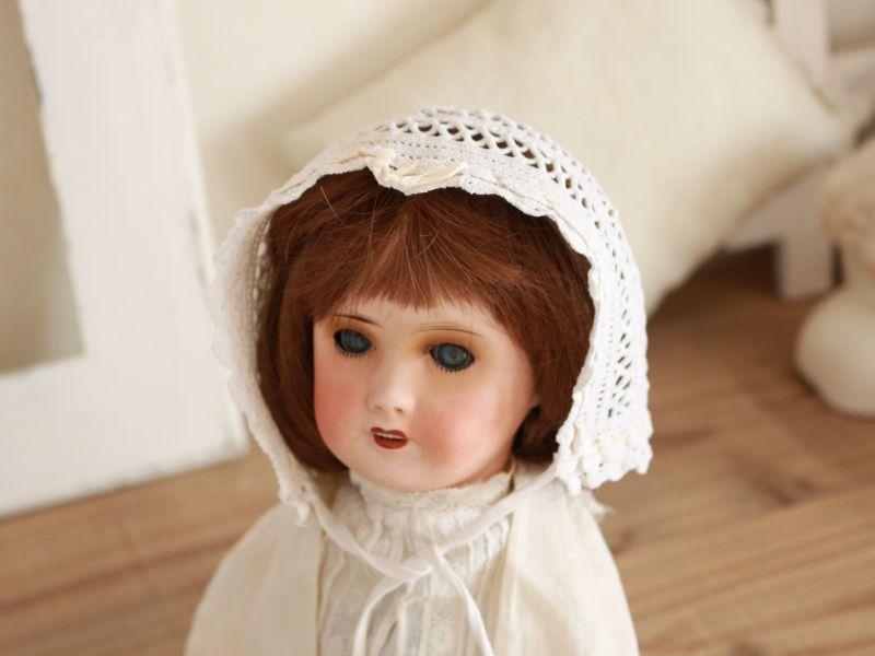 画像1: Antique Crochet Bonne B/France (1)