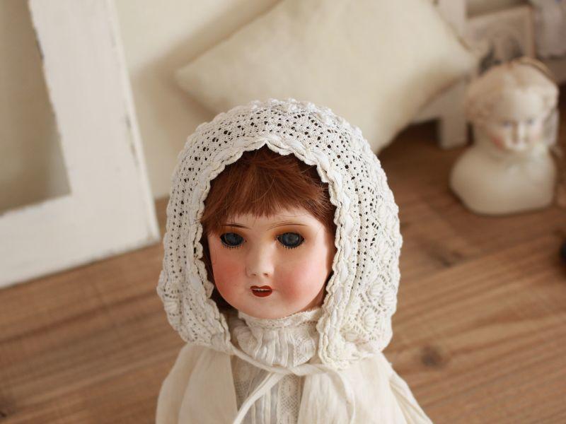 画像1: Antique Crochet Bonne E/France (1)