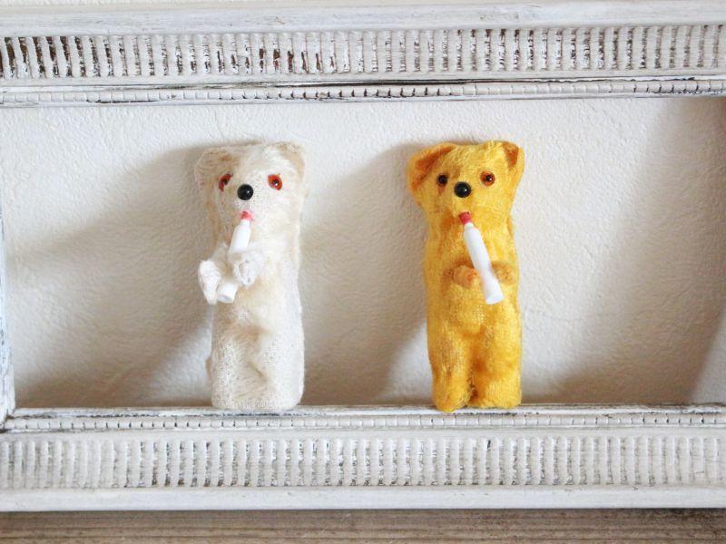 画像1: Milk Bottle Bear/White (1)