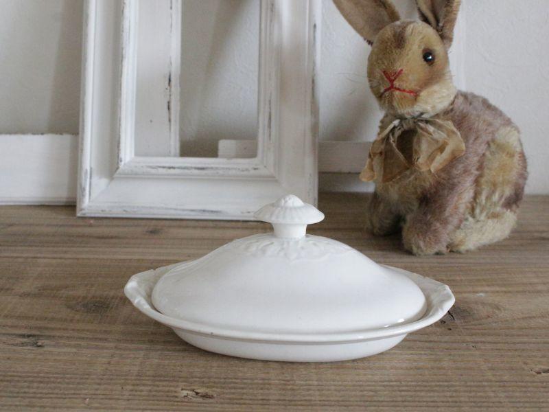 画像1: Maastricht窯 Petrus Regout Serving Dishe /Dolls Tableware (1)