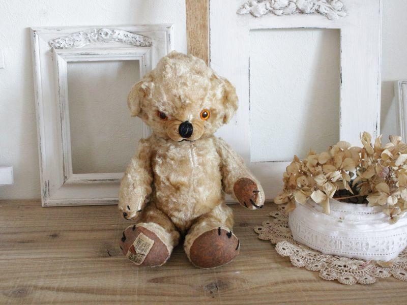 画像1: Merrythought Cheeky Bear /11in /British (1)