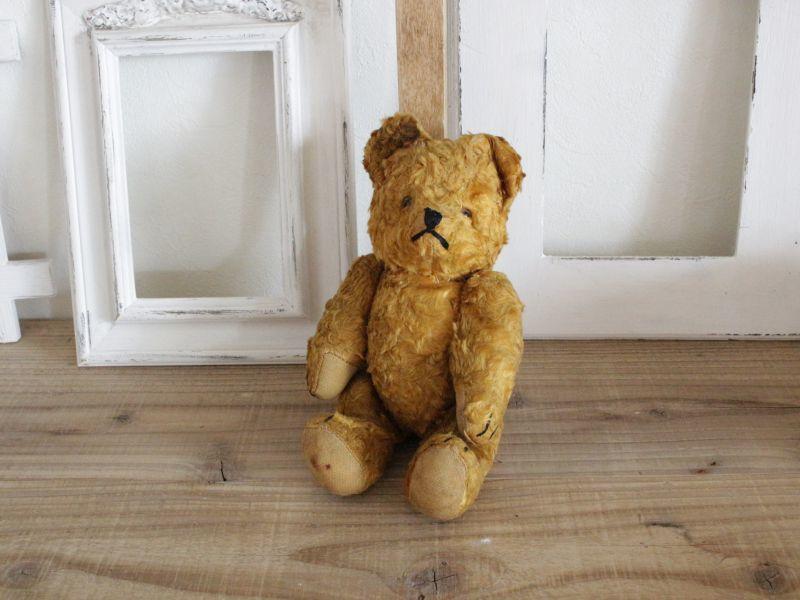 画像1: Antique Bear / 9in (1)
