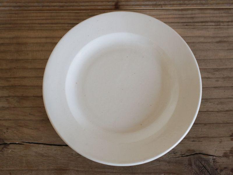 画像1: Maastricht窯 Petrus Regout Dinner  plate /Creem/Dolls Tableware (1)
