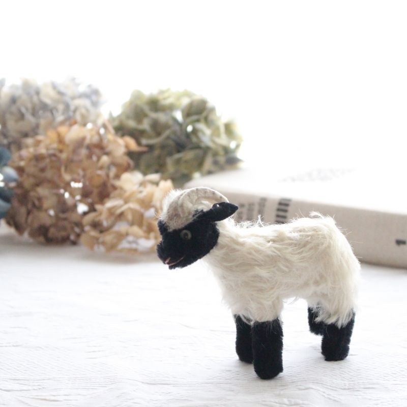 画像1: Antique Steiff 山羊 Snucki (1)