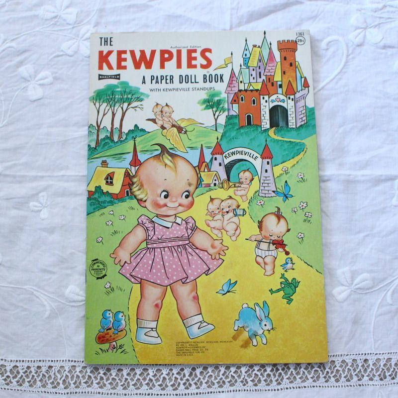 画像1: KEWPIES A PAPER DOLL BOOK  EVJ07020418 (1)
