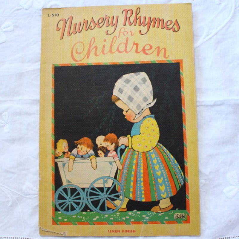 画像1: LinenFinish Chloe Preston/Nursery Rhymes for Children EVJ07020118 (1)