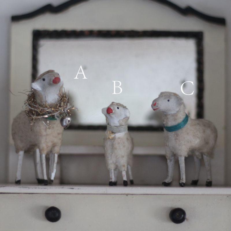画像1: Putz wooly sheep* (1)
